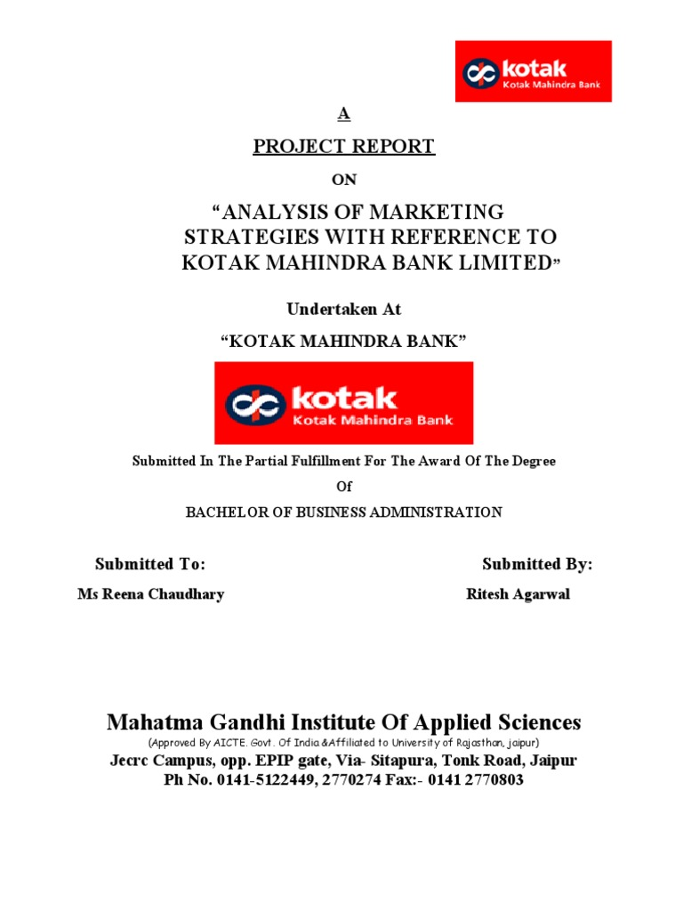 tech mahindra project report Tech mahindra limited due diligence report provides a complete overview of the company's affairs all available data is presented in a comprehensive.