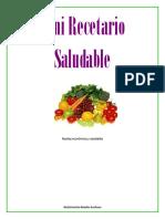 Mini Recetario Saludable