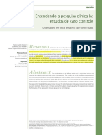 Estudos caso controle - epidemiologia medicina