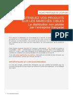 La distribution non pilotée par l'entreprise française