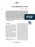 CULTURA Y NEGOCIACION EN CHINA