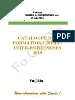 Catalogue Général FoCoDis