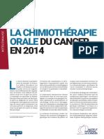 La_chimiothérapie_orale_du_cancer_en_2014