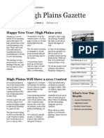 High Plains Gazette Vol 3