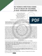 Comparativo promoción de la Salud Colombia, Costa Rica y Cuba