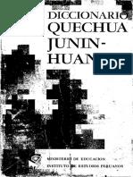 Cerrón-Palomino (1969a) Diccionario Junin-Huanca.