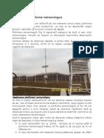 Organizarea platformei meteorologice