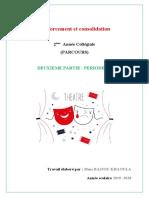renforcement et consolidation 2 AC  Khaoula Bajjou