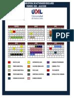 Calendario Escolar UDAL 2020