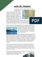 Mount St Helens - Case Study