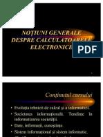 Notiuni Generale Despre Calc Electron Ice