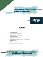INSTRUMENTOS PARA LA RECOLECCIÓN DE INFORMACIÓN PRIMARIA.pptx