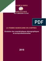 La femme marocaine en chiffres_ Evolution des caractéristiques démographiques et socioprofessionnelles 2018