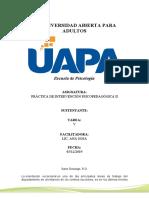 Unidad VI PRÁCTICA DE INTERVENCIÓN PSICOPEDAGÓGICA II