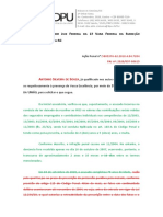 Peticao- extincao da punibilidade - prescricao virtual ou em perspectiva- continuidade delitiva- sumula 497 STF - Antonio Silveira de Souza