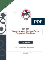 UNIDAD 4 - GARANTIA DEL PROYECTO ELE-109 (2020-2)