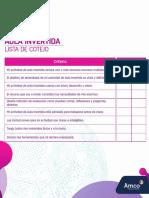 Checklist - Español.pdf