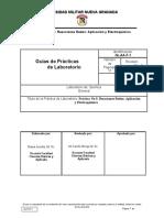Práctica No 9 Reacciones Redox Aplicación y Electroquímica
