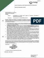 Asistencia y puntualidad Precisiones CC 13-DRRHH-CNSR-2015