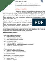 PLAN LECTOR - EL GRILLO Y EL LEON