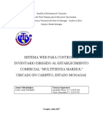 Proyecto Marisol Parte I