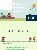grade 4 second ppt [Recovered] ppt