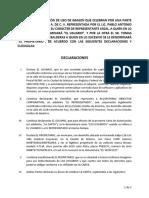 Carta de autorización