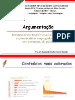 Aula 10 - Argumentação e estratégias argumentativas (H23 e H24)