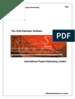 Chief_Estimator_Software_Information