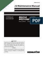 Operation & Maintenance Manual (PC210-10M0, PC210LC-10M0)