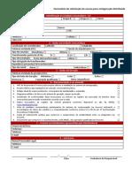 Formulário de solicitação de acesso para minigeração distribuída