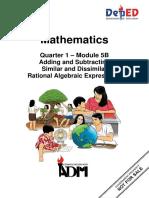Math8 q1 Mod5B Adding and Subtracting Similar and Dissimilar Rational Algebraic Expressions 08092020 (1)