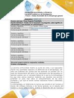 Formato respuesta - Fase 2 - La antropología_