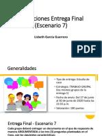 Indicaciones Entrega Final - Escenario 7-1