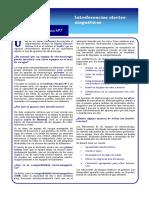 7)INTERFERENCIAS ELECTROMAGNETICAS