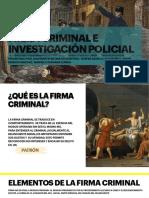 Firma criminal e investigación policial