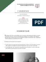 2.7 Análisis de Valor y Reducción de Costos Equ. 6