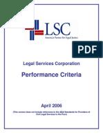 LSCPerformanceCriteria