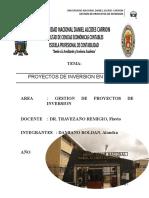 PROYECTO DE INVERSION EN PASCO