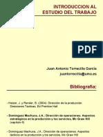 INTRODUCCION AL ESTUDIO DEL TRABAJO