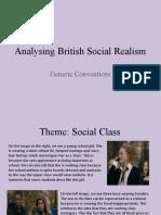 Analysing British Social Realism