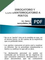 INTERROGATORIO Y CONTRAINTERROGATORIO A PERITOS.ppt