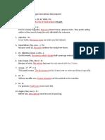 Buat 10 contoh kalimat dengan noun phrase dan preposisi