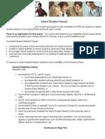 Island Student Award
