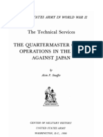 Quartermaster Corps Operations in the War Against Japan