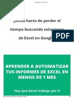 Método M1M - Excel y VBA