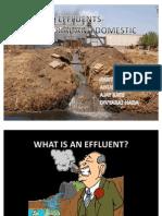 effluents