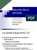 E-services security cours en ligne