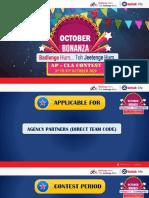 The October Bonanza  CLA Contest - APC AP(Direct Code)