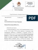 Sesizare Priv Hot Parlamentului _29_din 20 Oct 2020_presedinte CL Iordache